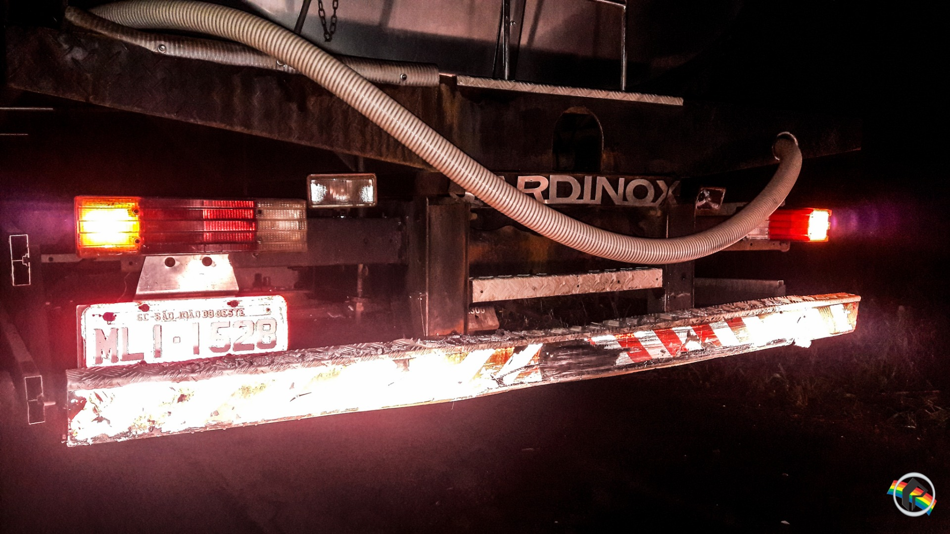 Engavetamento envolve seis veículos na BR 282 em Iraceminha