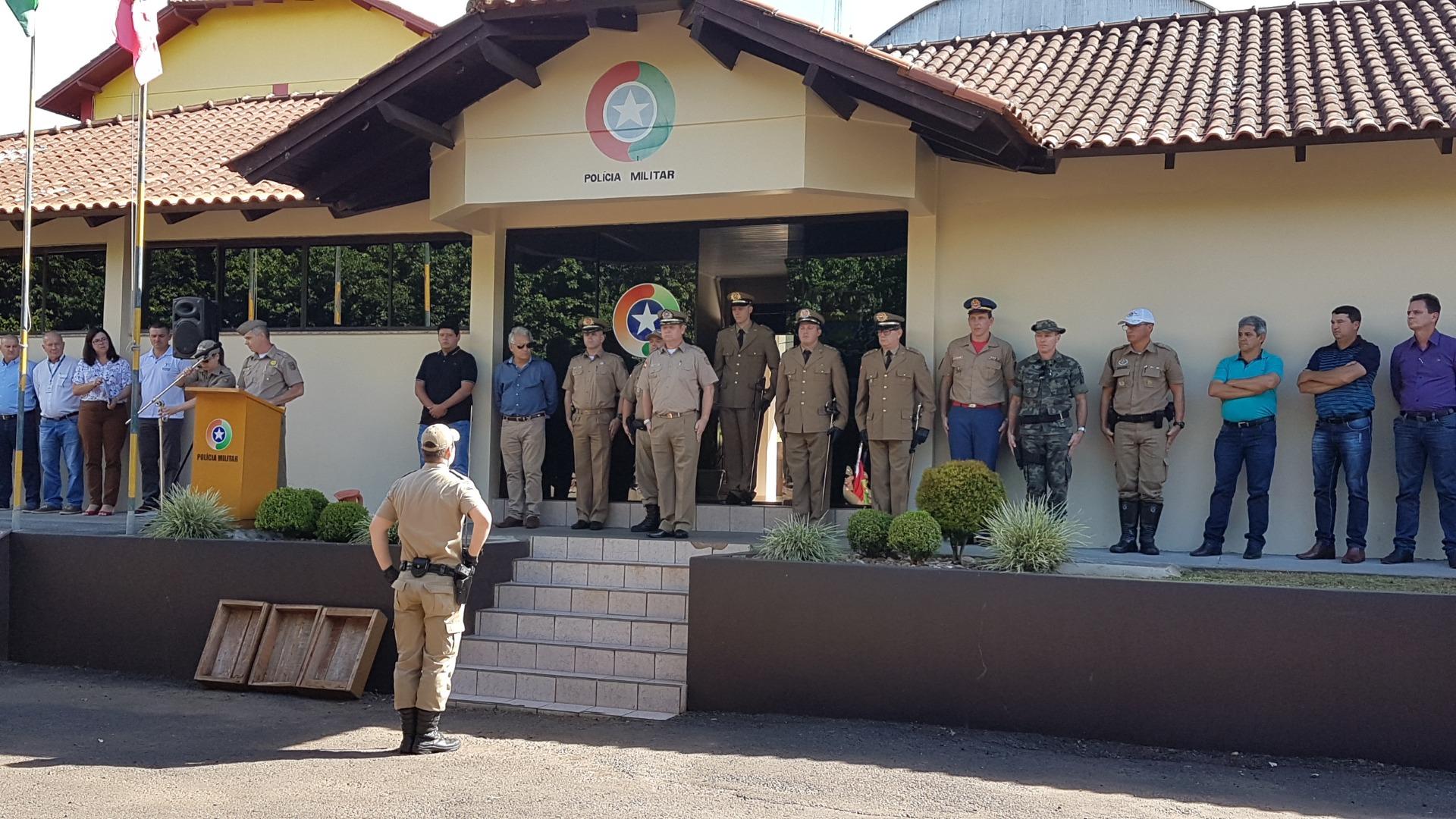 2º Pelotão da Polícia Militar de Itapiranga possui novo comandante