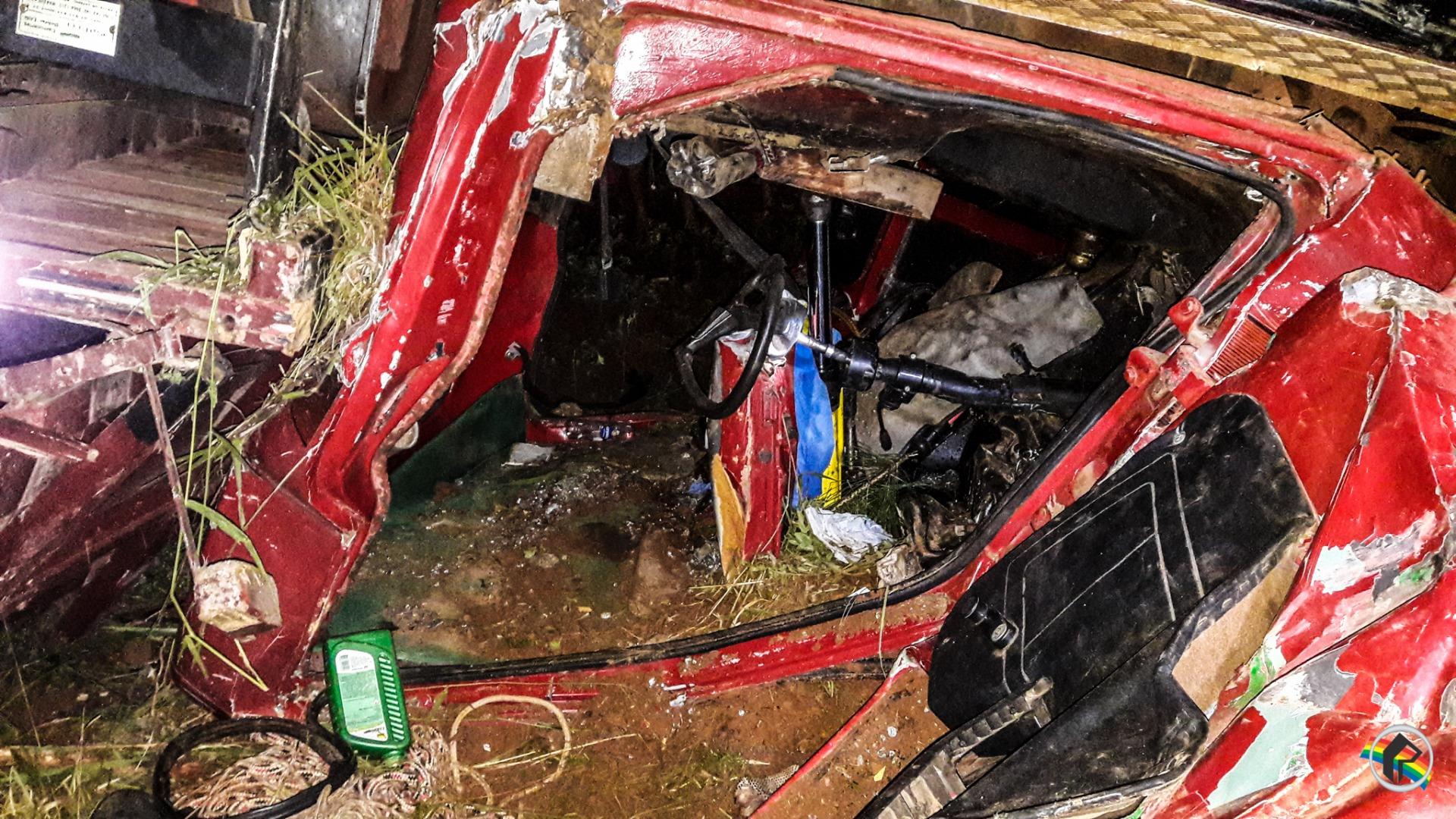 Acidente deixa duas pessoas feridas em Romelândia