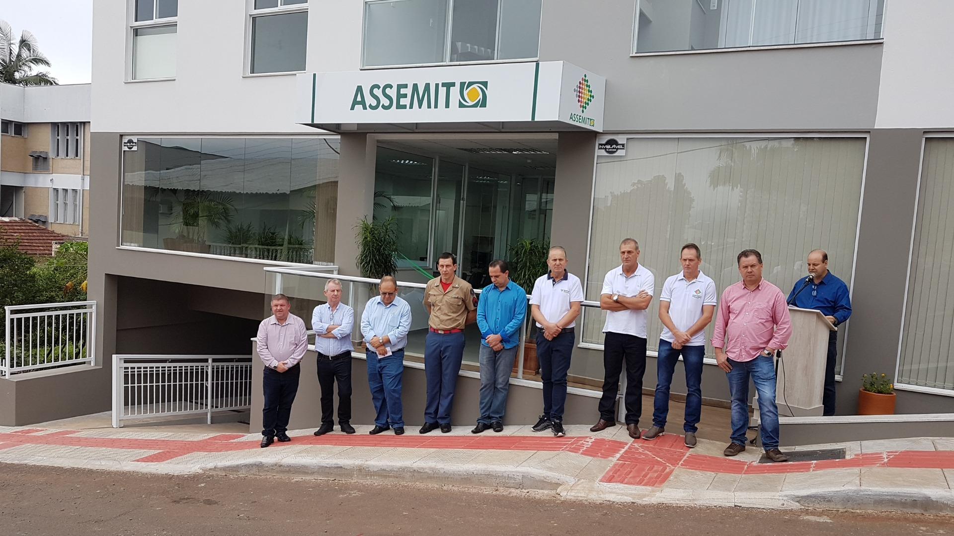 Assemit de Itapiranga inaugura nova sede