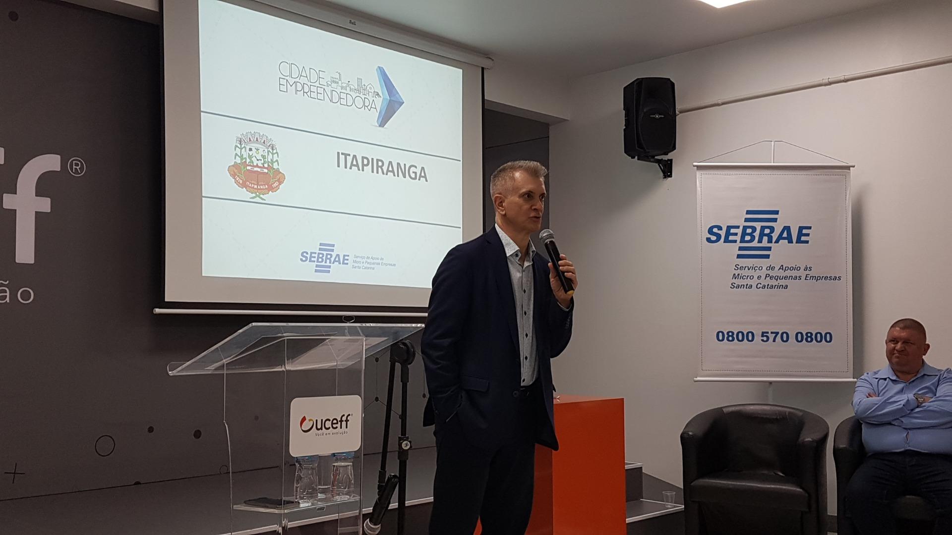 Itapiranga lança Programa Cidade Empreendedora