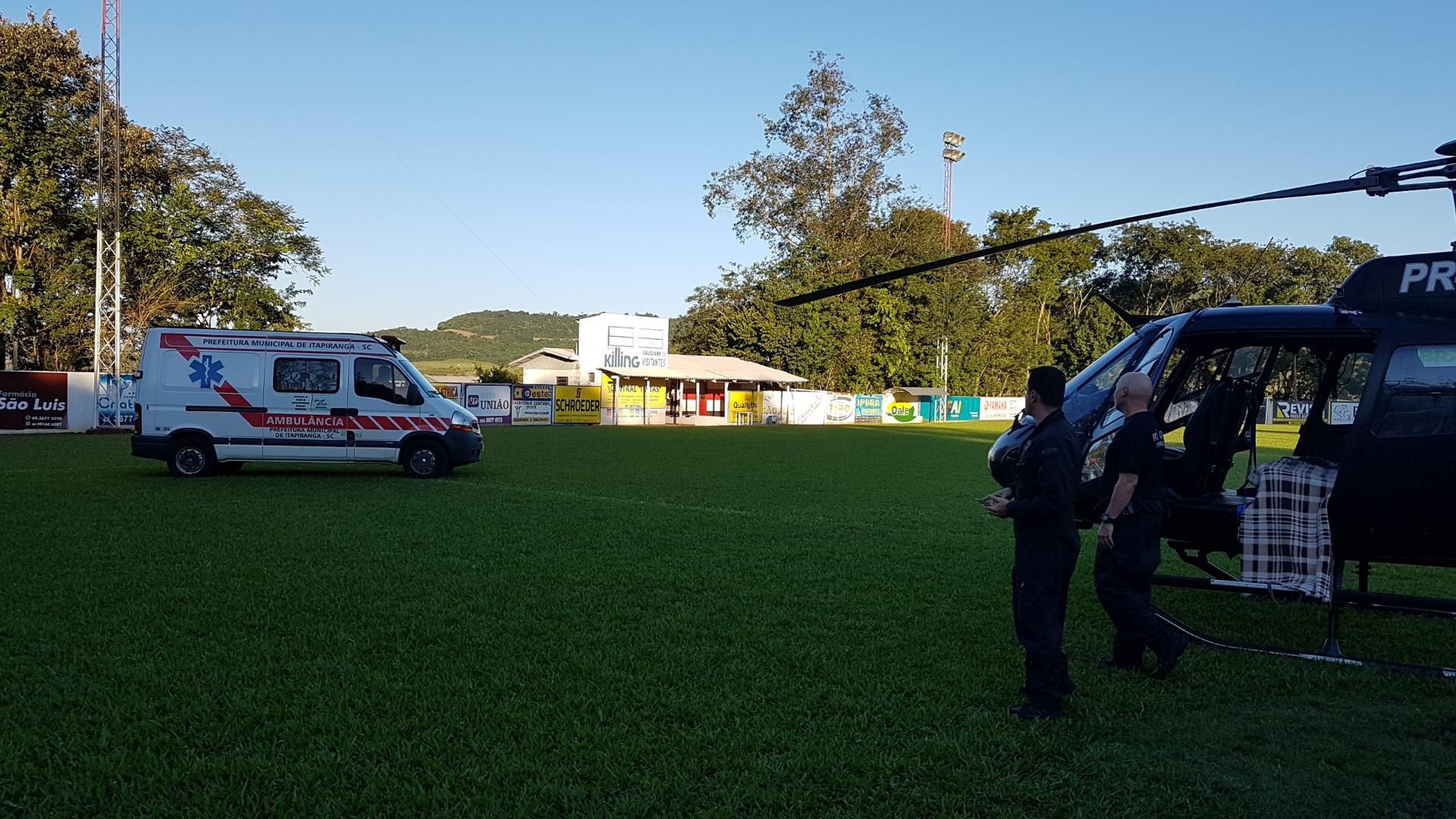 Vídeo - Paciente é transportado pelo Sara em Itapiranga