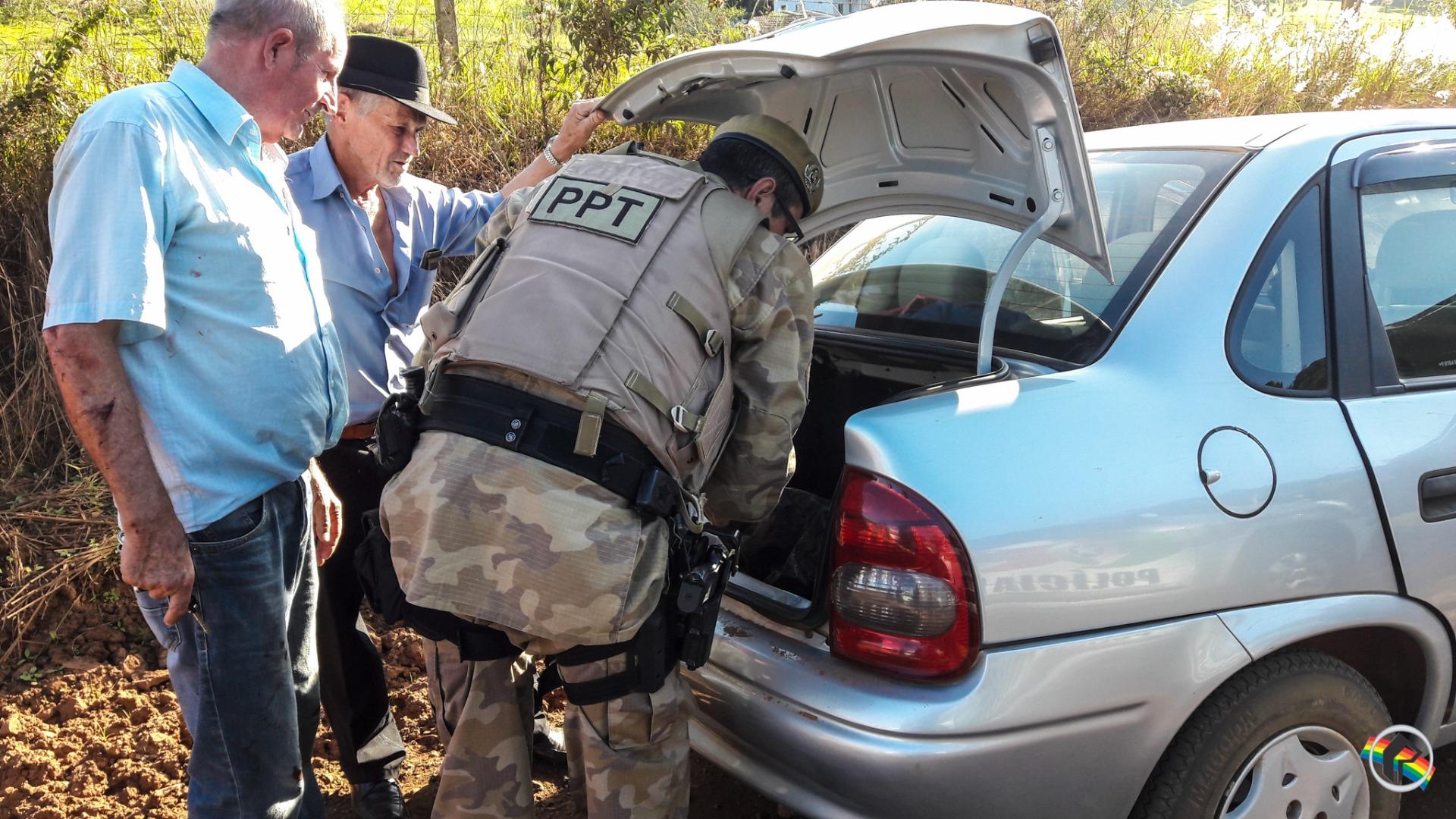 Taxista reage a assalto e jovem é presa em São Miguel do Oeste