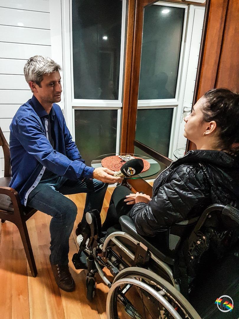 Com exclusividade, ex-ginasta Lais Souza fala com a Peperi