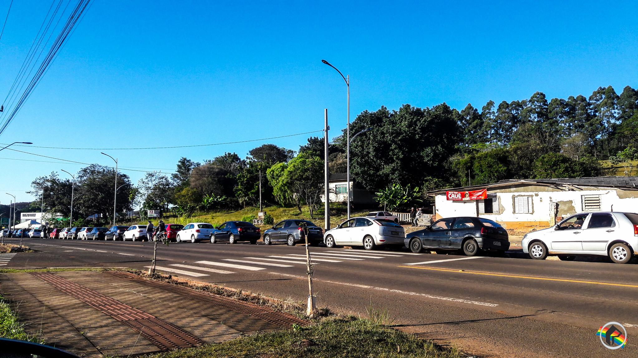 Com greve dos caminhoneiros, falta Gasolina em postos de São Miguel do Oeste