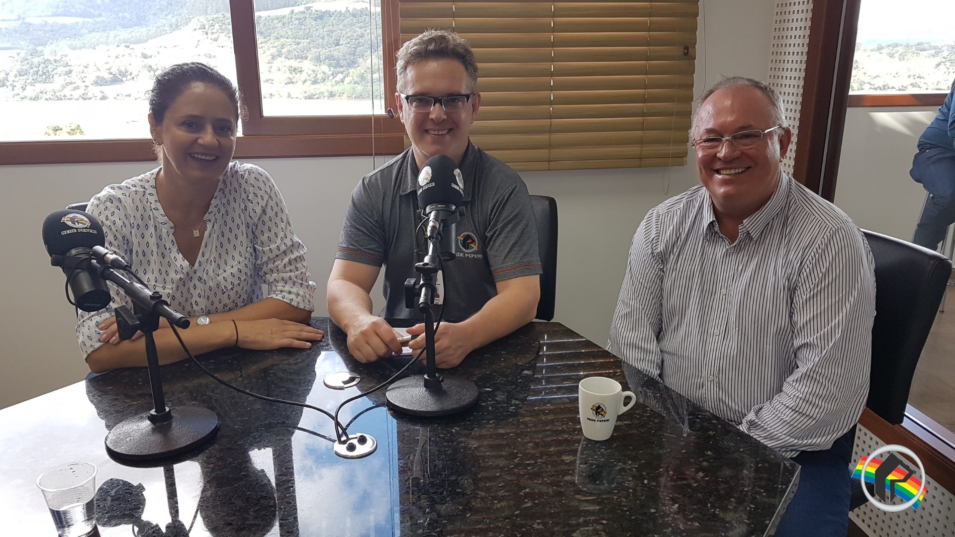 Pré candidata a deputada visita Rádio Itapiranga