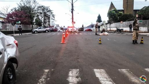 VÍDEO: Empresários e moradores pedem rótula em local de acidente
