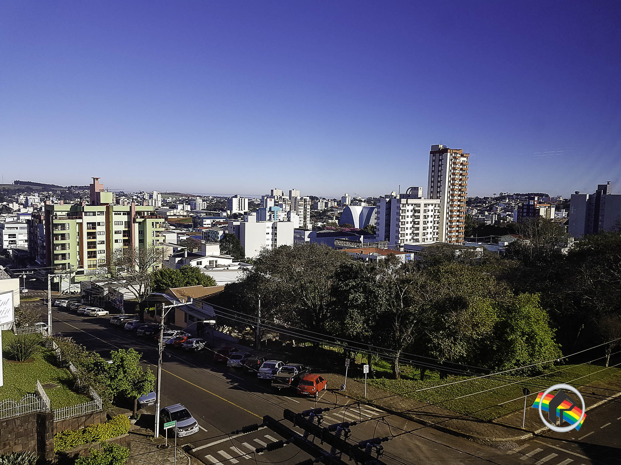 Semana começa com frio e tempo seco em Santa Catarina