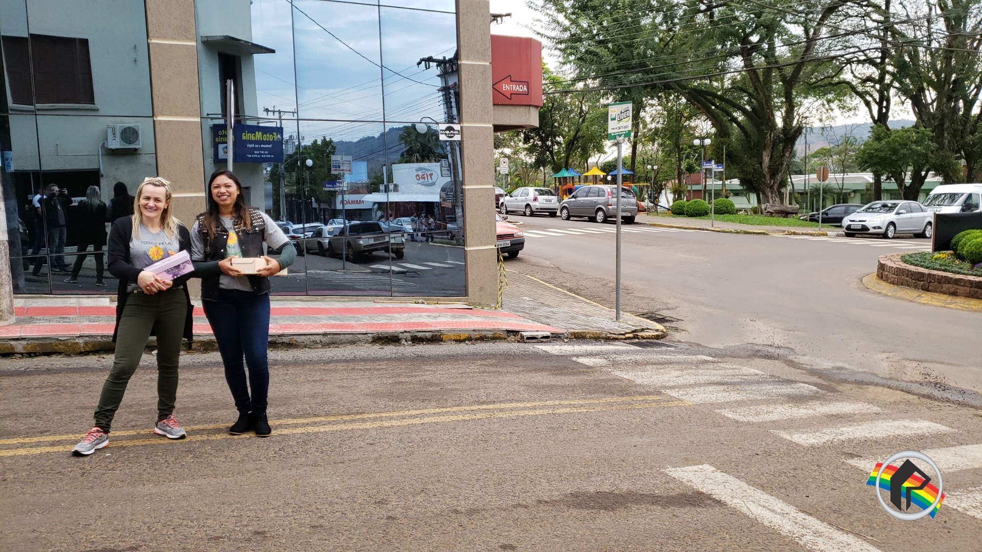 Apae de Itapiranga realiza pedágio solidário