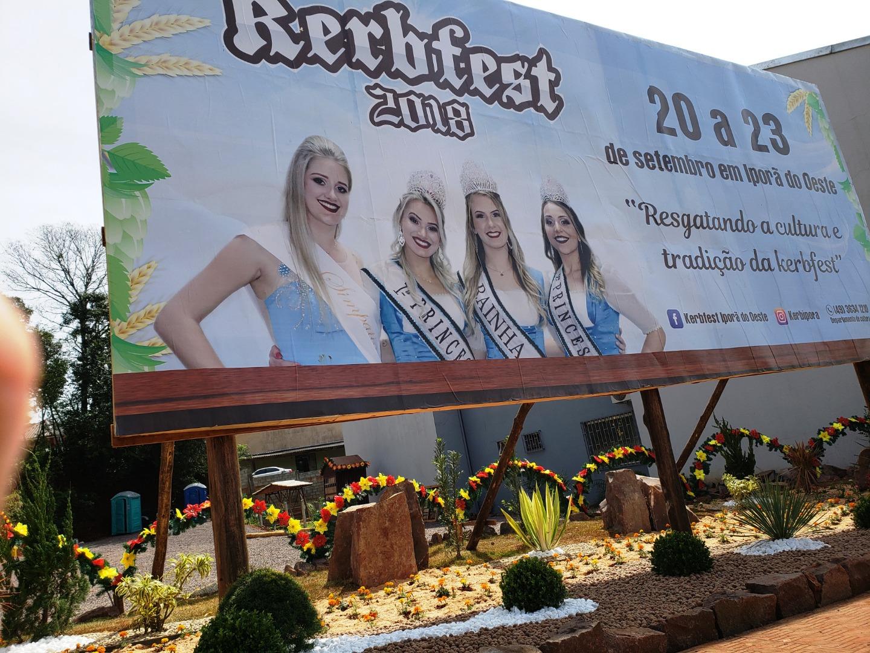 Iporã do Oeste inicia nesta quinta-feira a programação do Kerbfest 2018