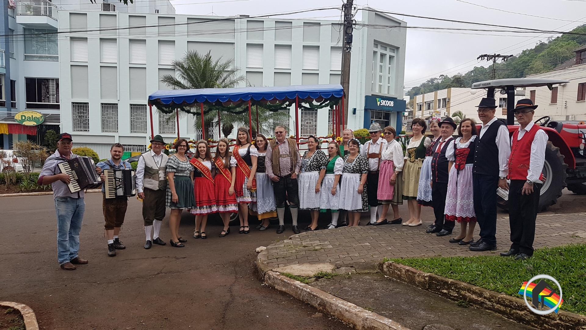 Vídeo - Itapiranga entra em clima de Oktoberfest