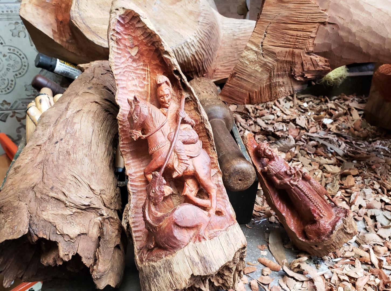 Obras de artista plástico de Descanso se destacam na região e até fora do país