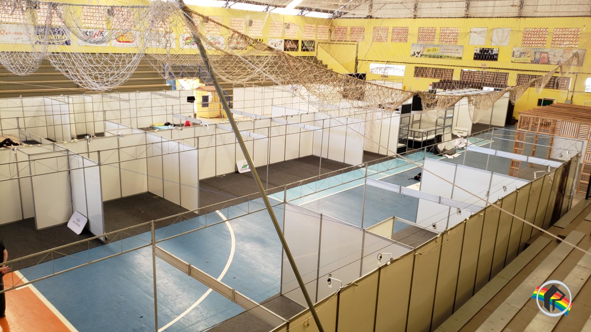 CCO da 4ª Expo São João trabalha na finalização do parque de exposições