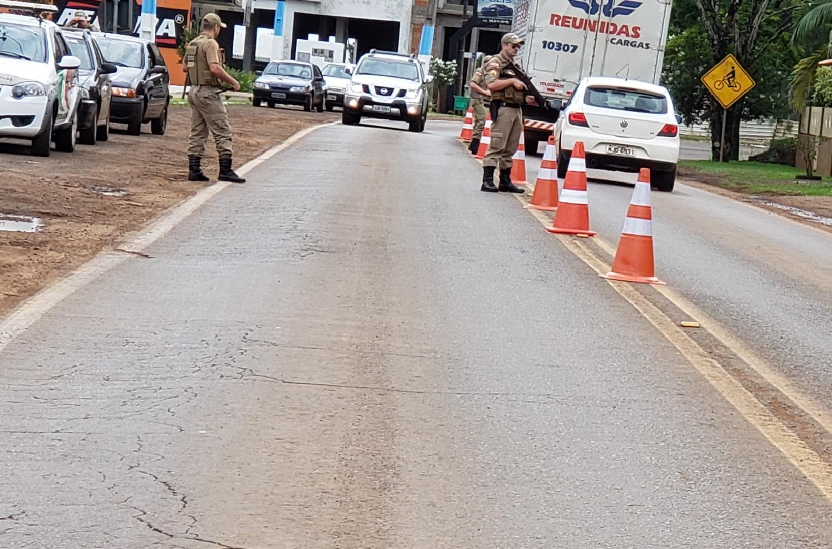 Polícia Militar de Iporã do Oeste flagra diversas irregularidades durante Operação Fronteira Segura