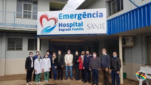 Hospital Sagrada Família de Itapiranga será administrado pelo Instituto Santé