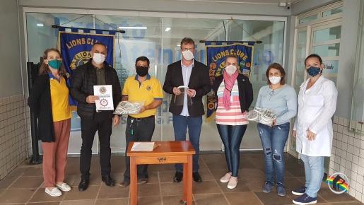 Lions Clube entrega EPIs para hospitais da região