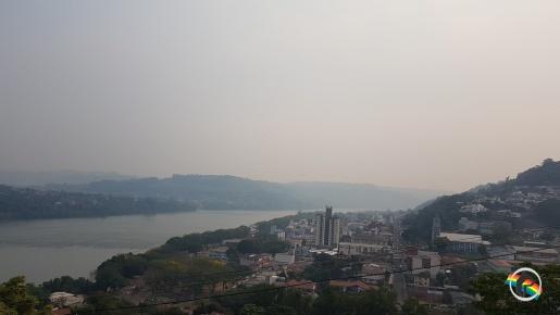 Fumaças de queimadas chegam ao Sul