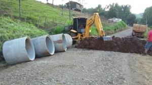 Estradas do interior recebem trabalhos de melhorias