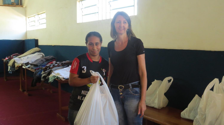 Município realiza entrega de agasalhos para famílias cadastradas