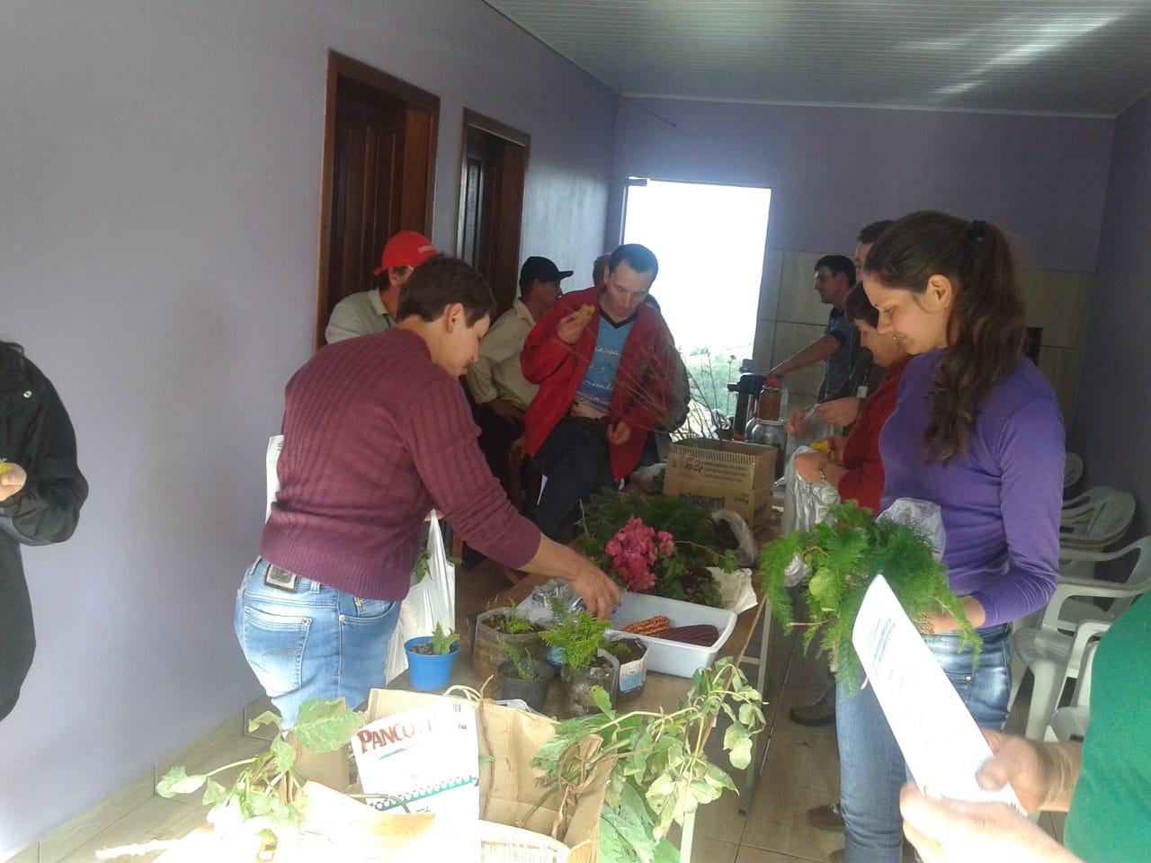 Realizado encontro com jovens no interior de Guaraciaba