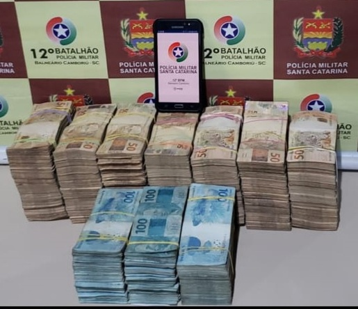 Polícia Militar apreende R$500 mil em espécie em motel