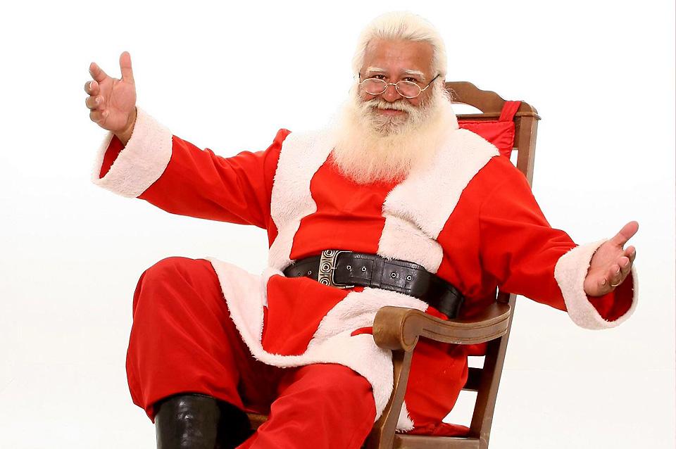Markar apresenta Papai Noel do Brasil em São Miguel do Oeste