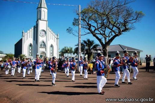 Desfile Cívico em São João do Oeste irá reunir cerca de mil estudantes
