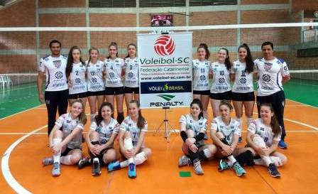 Guaraciaba sediará finais de duas categorias do Campeonato Estadual de Voleibol