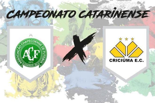 Peperi transmite Chapecoense e Criciúma nesta quarta-feira