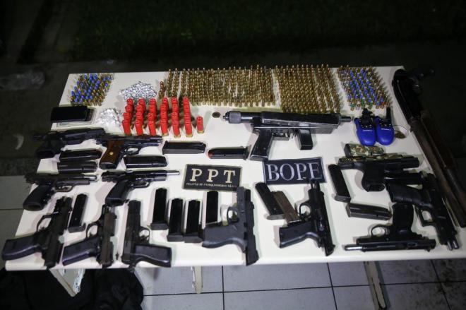 PM-SC retirou 1.032 armas de fogo das ruas somente no primeiro trimestre