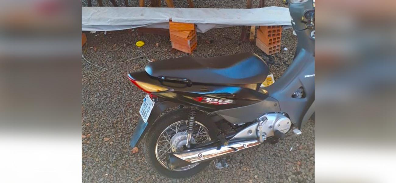 Moto é furtada no centro de São Miguel do Oeste