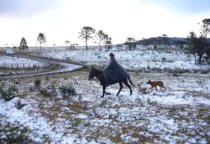 Santa Catarina pode ter a primeira neve do ano neste fim de semana