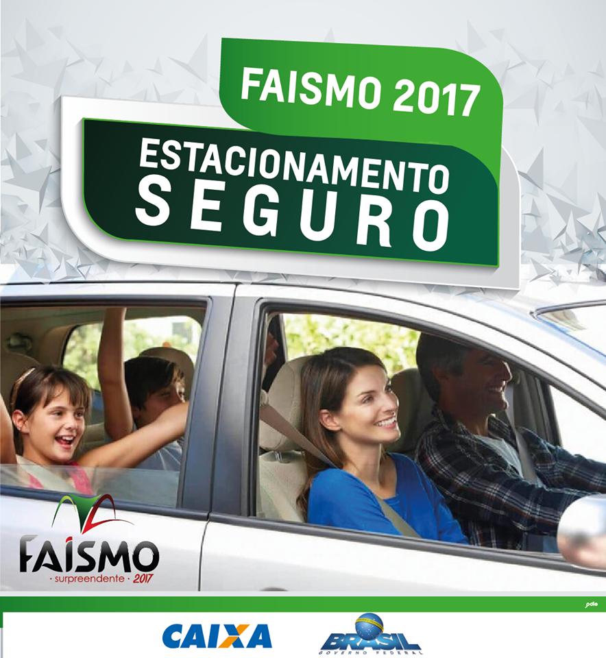 CCO reforça para visitantes usarem estacionamentos oficiais da Faismo