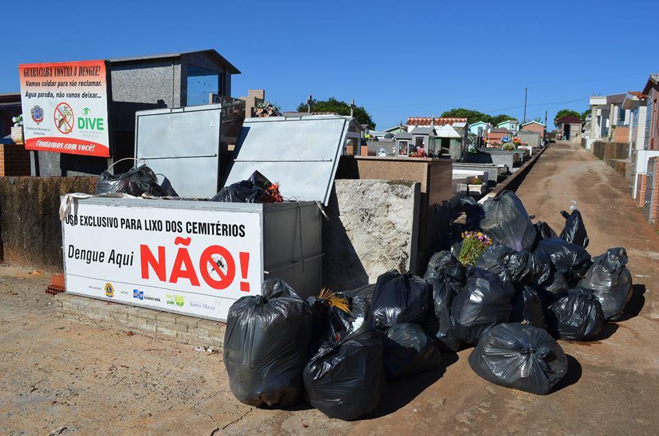 Cemitérios de Guaraciaba recebem vistoria