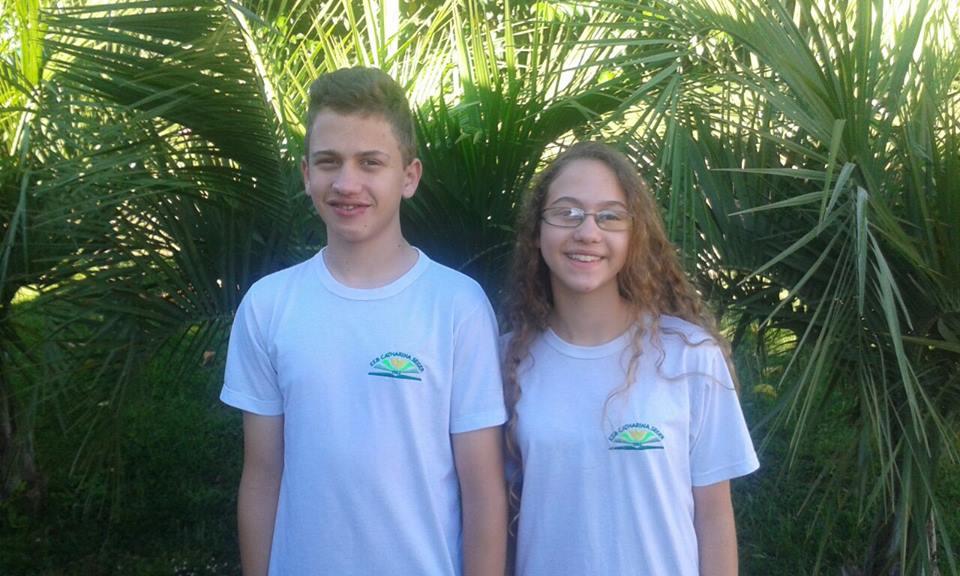 Irmãos de Palma Sola são destaque na Olimpíada Brasileira de Matemática