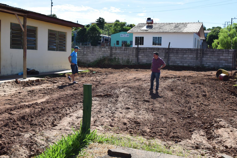 Iniciadas obras de ampliação da creche em Itajubá