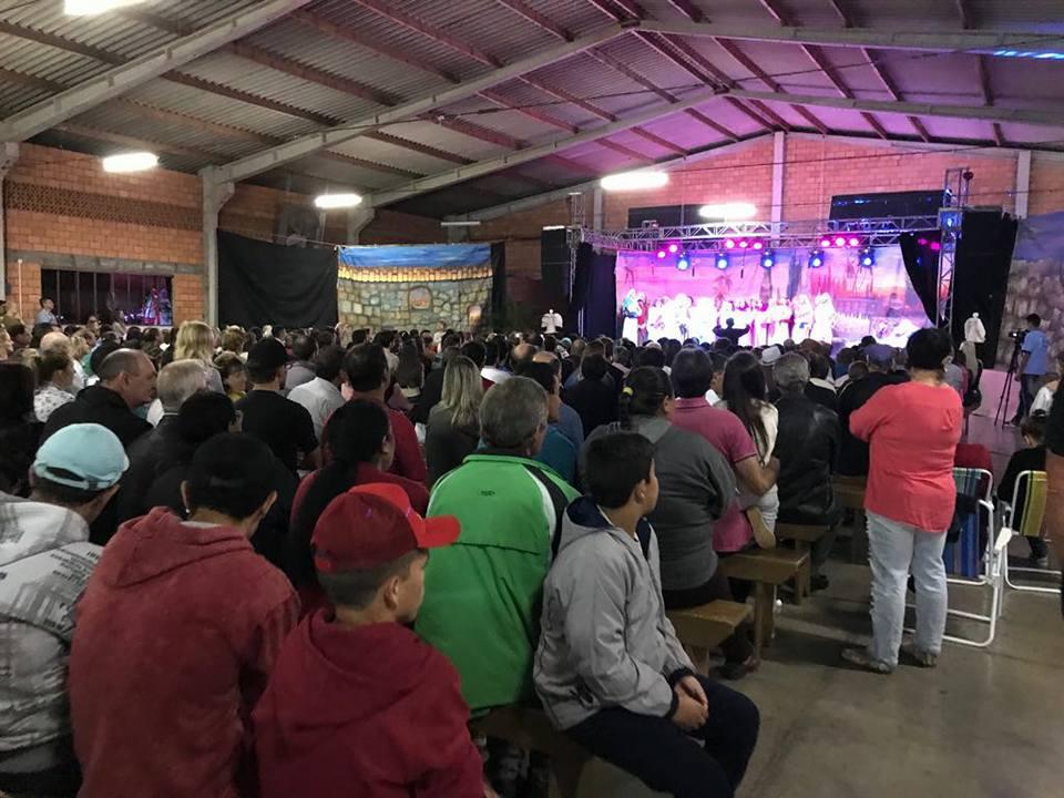 Programação de Natal é aberta oficialmente em Guarujá do Sul
