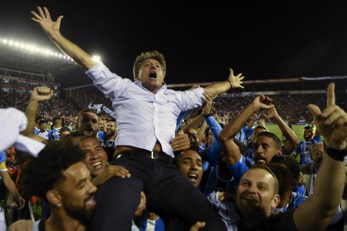 Grêmio é o segundo melhor time do mundo, diz ranking