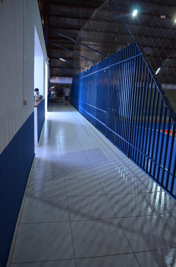 Obras de reformas e melhorias no ginásio Genésio Pasinato estão concluídas