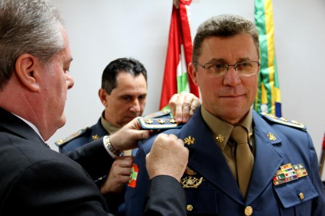 Onir Mocellin deixará comando do Corpo de Bombeiros de Santa Catarina