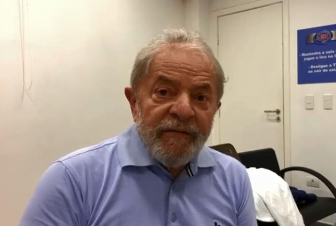 Em vídeo gravado antes de ser preso, Lula afirma que Moro tem mente doentia