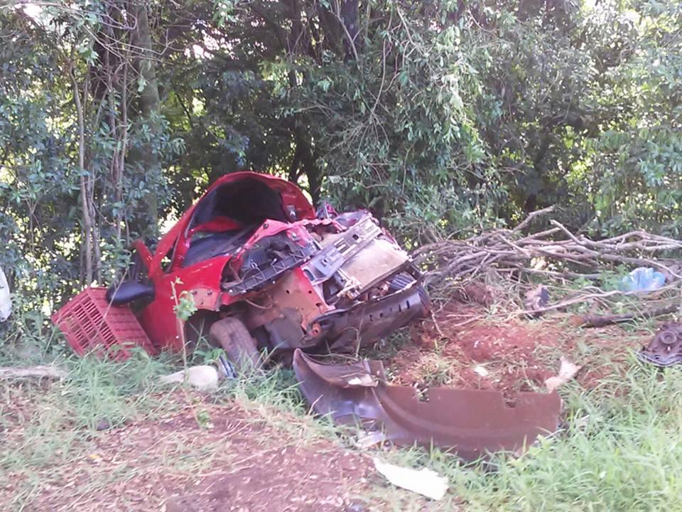 Caminhão de São João do Oeste se envolve em acidente com morte no RS