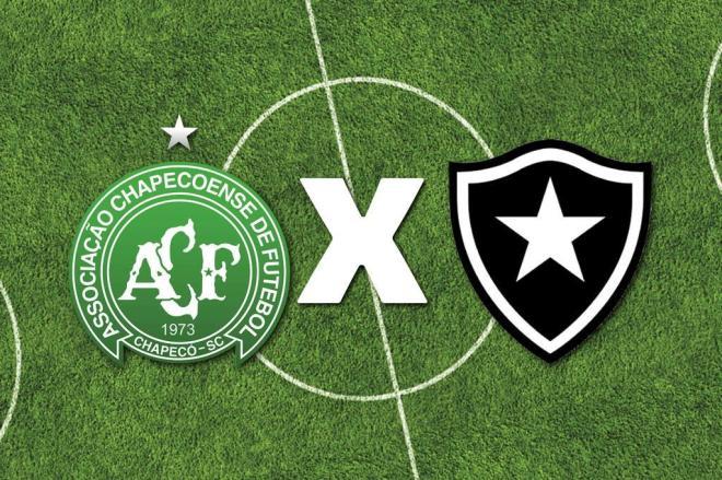 Chapecoense encara o Botafogo nesta quinta-feira