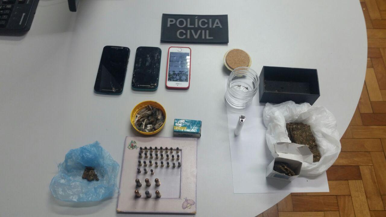 Polícia prende suspeito de tráfico de drogas durante operação