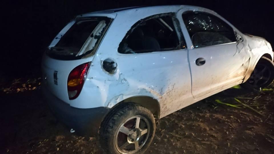 Foragido da justiça é preso depois de se envolver em acidente em São José do Cedro