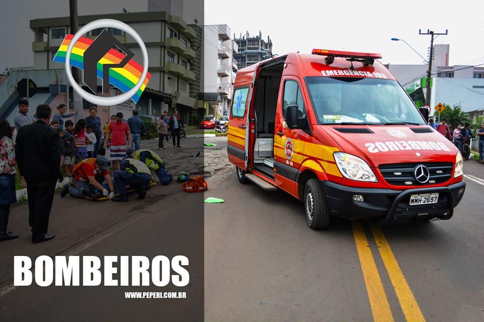Homem fica ferido em acidente de trabalho no centro de São José do Cedro