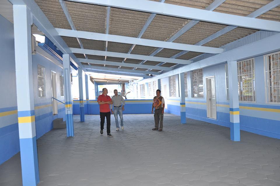 Reforma nas unidades de ensino de São José do Cedro seguem até o final do mês