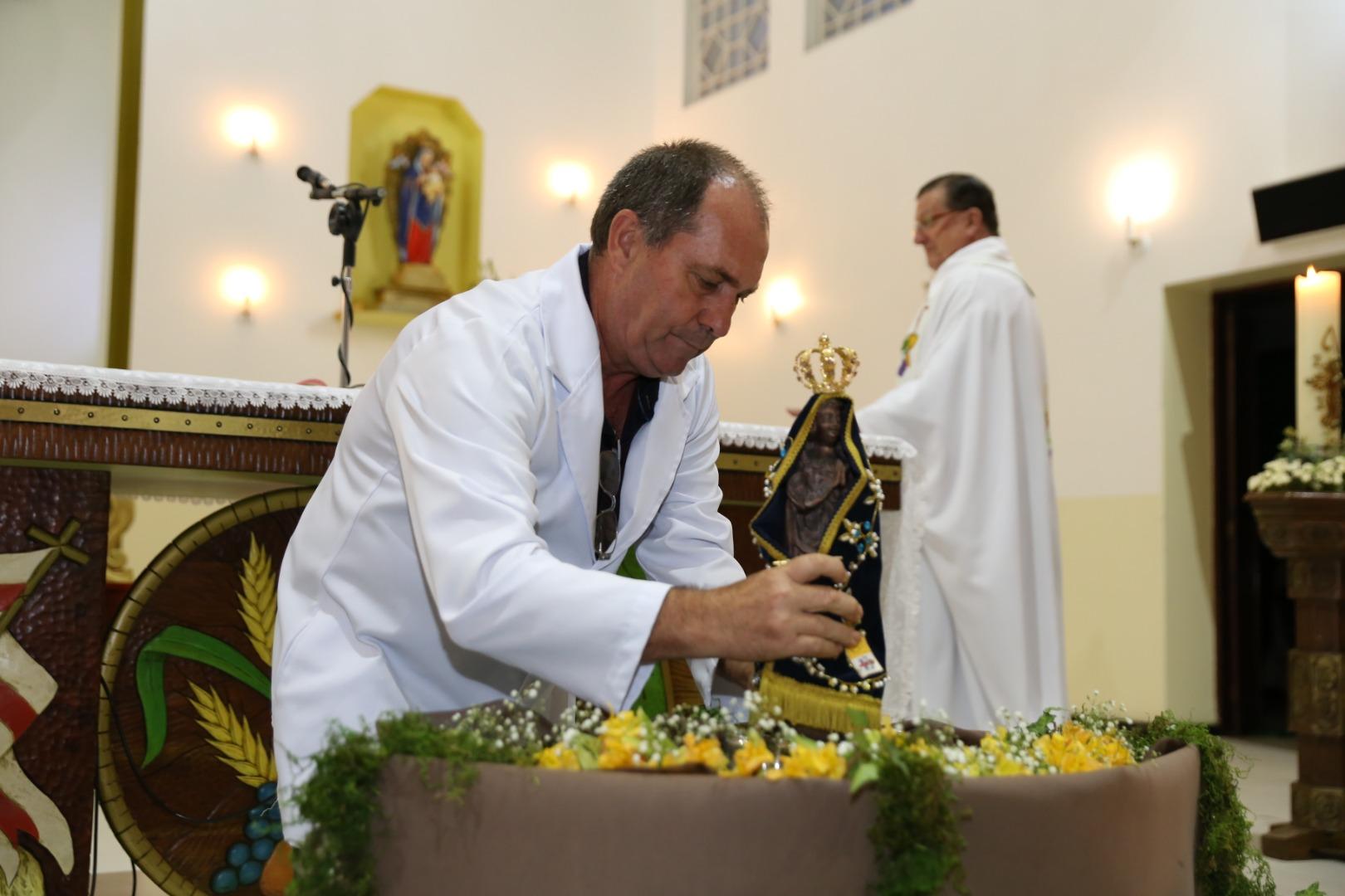 Igreja católica mobiliza fiéis para roteiro da Réplica de Nossa Senhora
