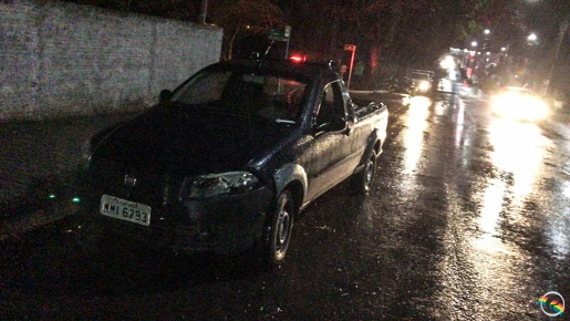 Após acidente, condutor foge do local em São Miguel do Oeste