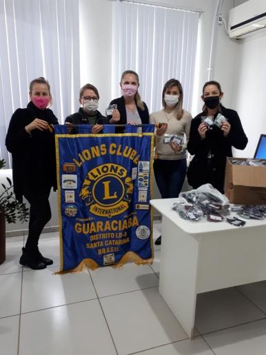 Saúde de Guaraciaba recebe doação de 500 máscaras para distribuição